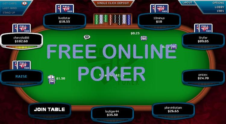 free poker online